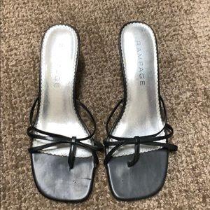 Women's Black high heels